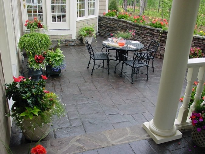backyard patio construction products