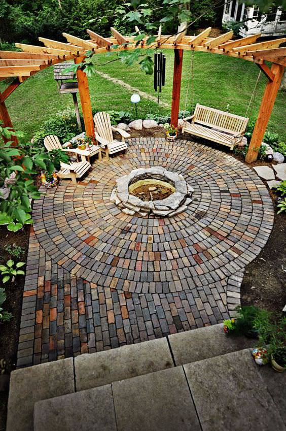 Beautiful Backyard Patio design