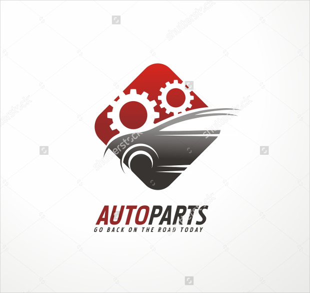 Car Auto Parts Logo