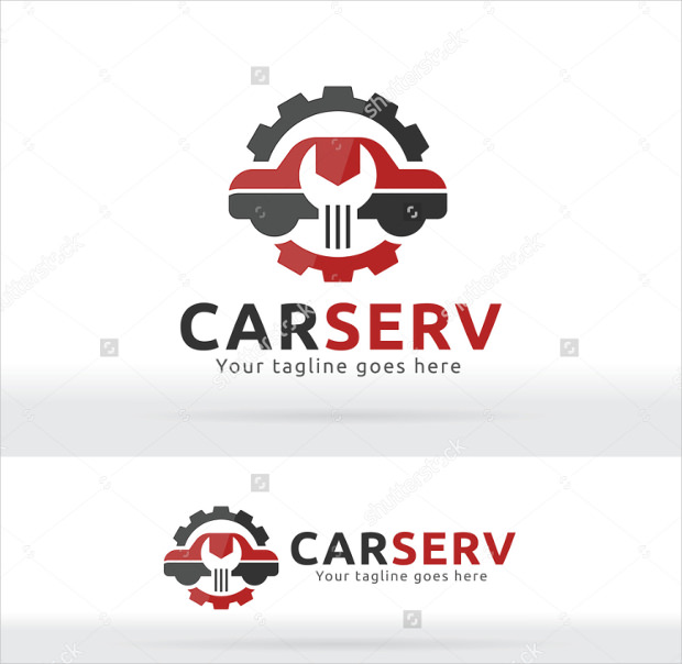Car Repair and Service Logo