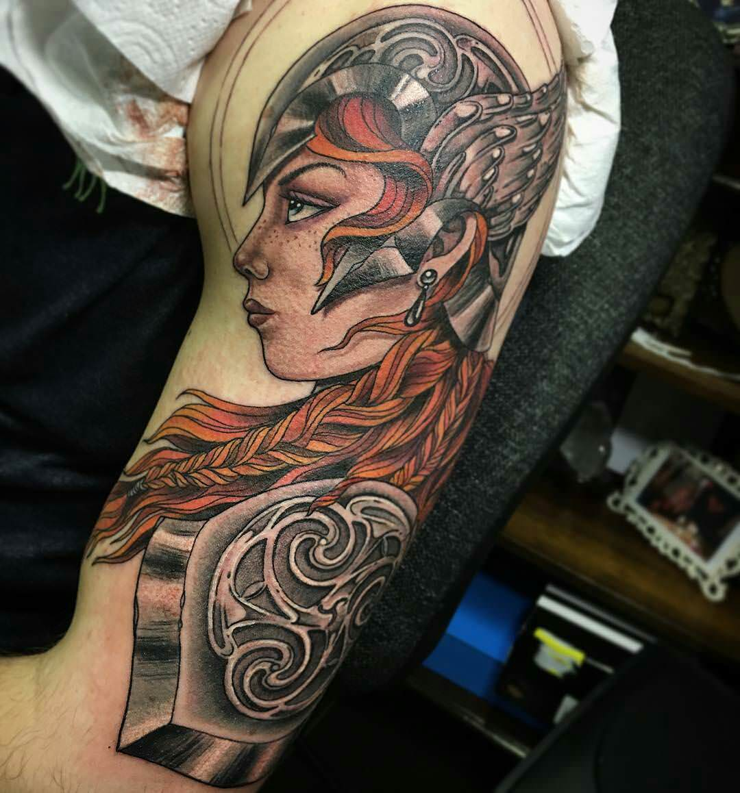 Tattoo Woman Photo: 25+ Viking Tattoo Designs, Ideas