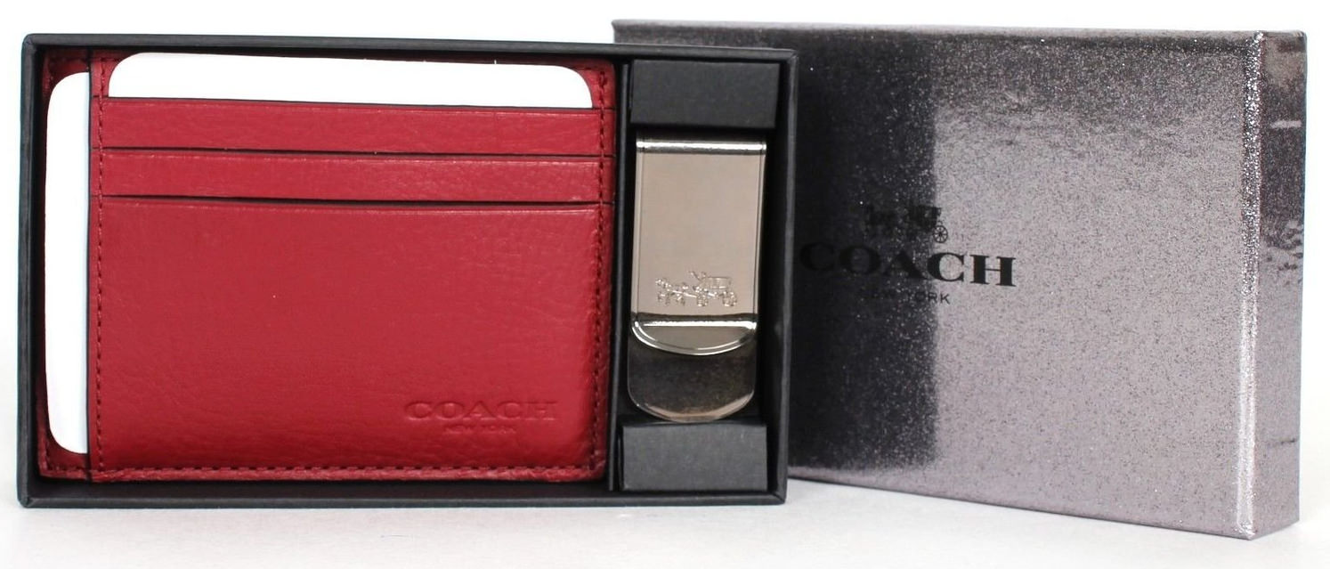 money clip set black wallet