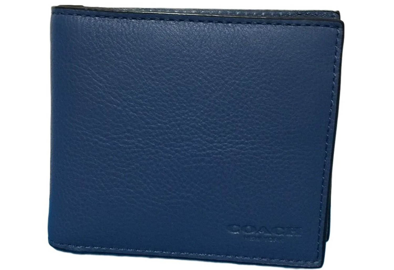 Compact Id Sport Calf Bifold Wallet