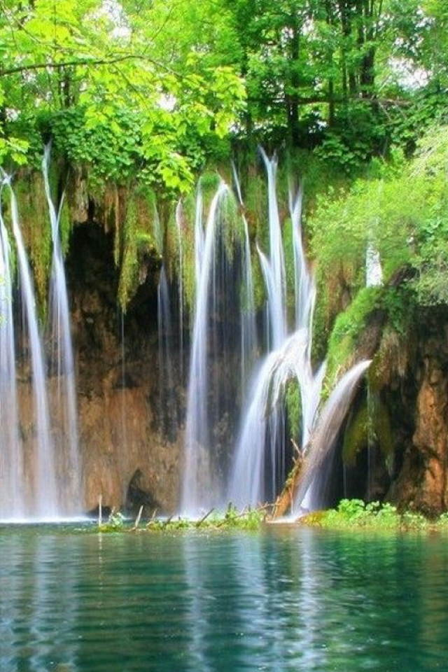 beautiful water fall