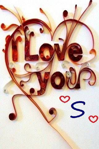 S S Letter In Love Wallpapers 119+ IPhone Bac...