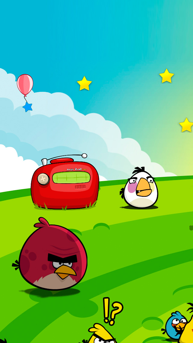 wallpaper fun angrybirds