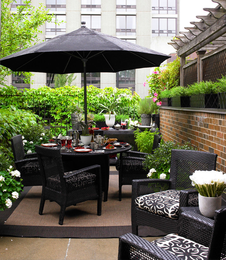 20+ Small Patio Designs, Ideas | Design Trends - Premium ... on Small Outdoor Patio Ideas id=15372