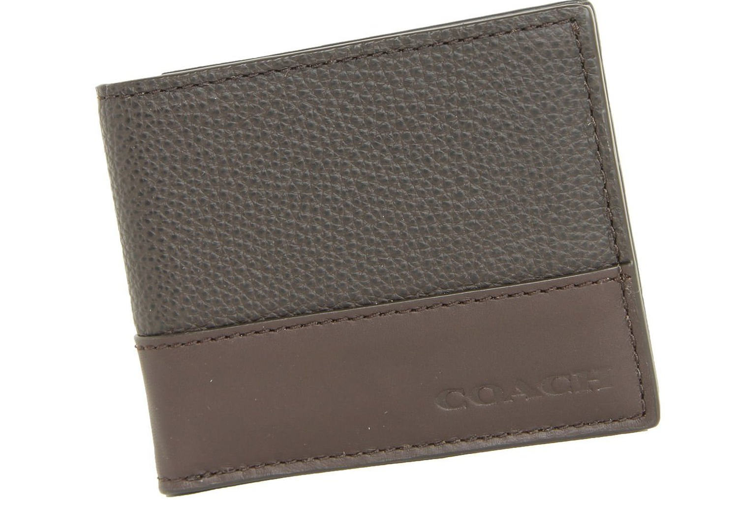 mens camden leather slim bifold wallet
