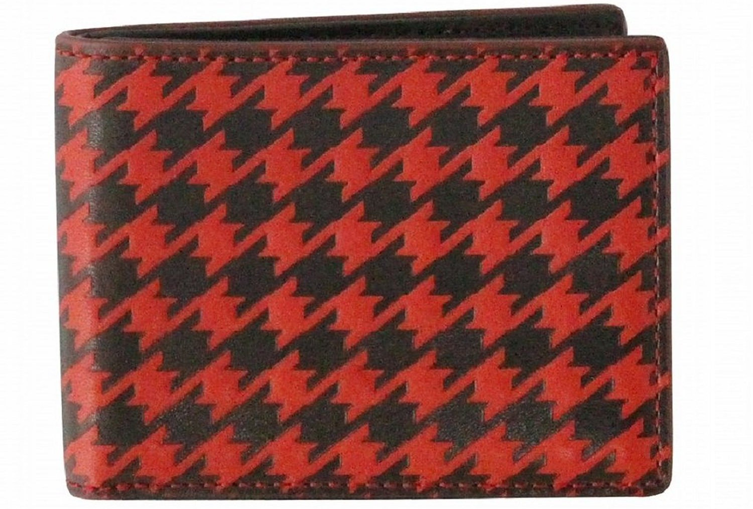 red black wallet