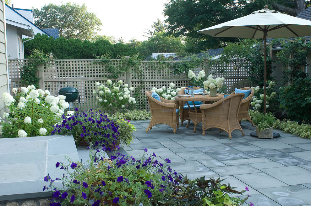 Cozy Simple Patio Designs