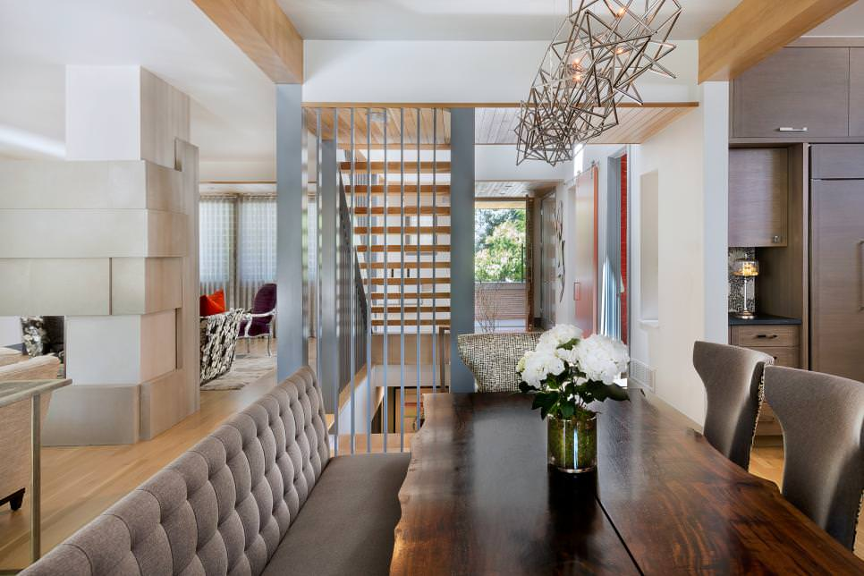Magnifico Contemporary Dining Room