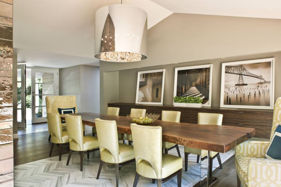 Sophisticated Contemporary Dining Room