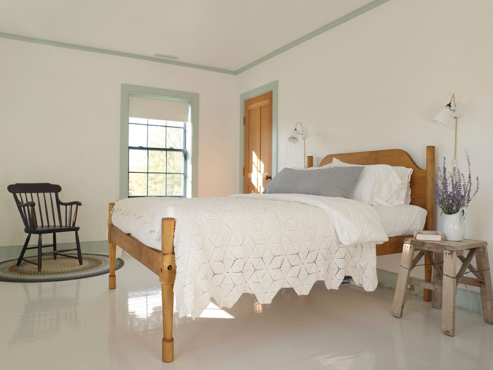 Simple Farm House Bed Room
