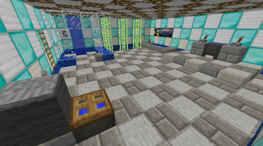 large minecraft bathroom design
