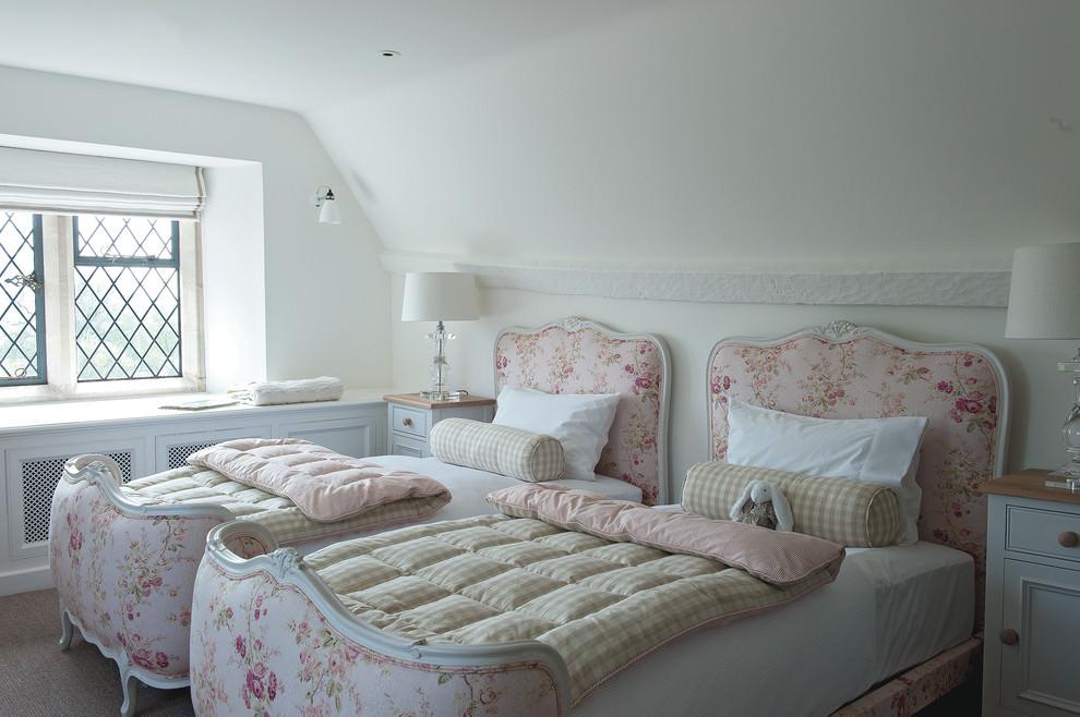 elegant countryside farm house bedroom