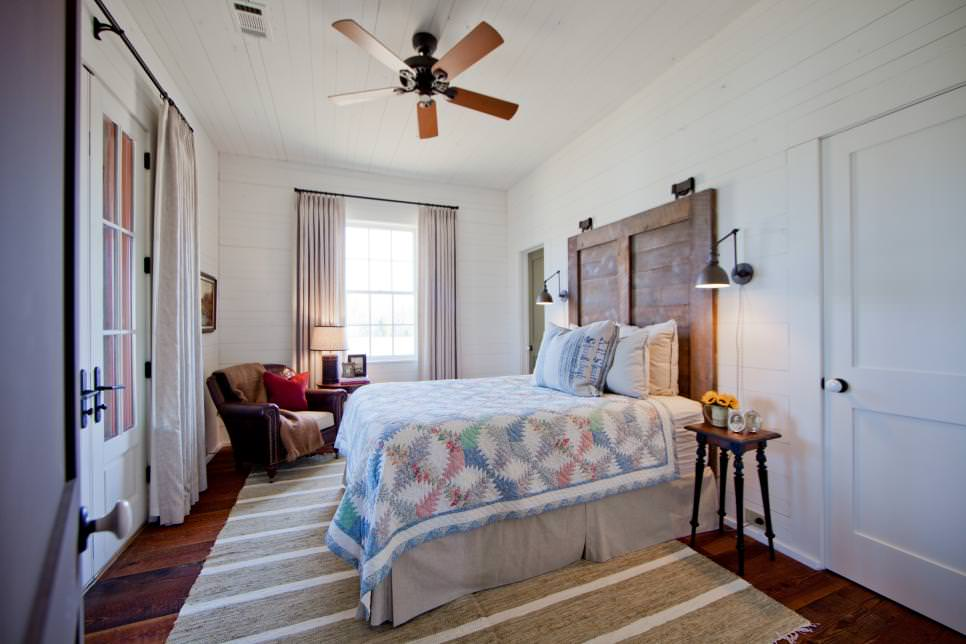Master Farm House Bed Room