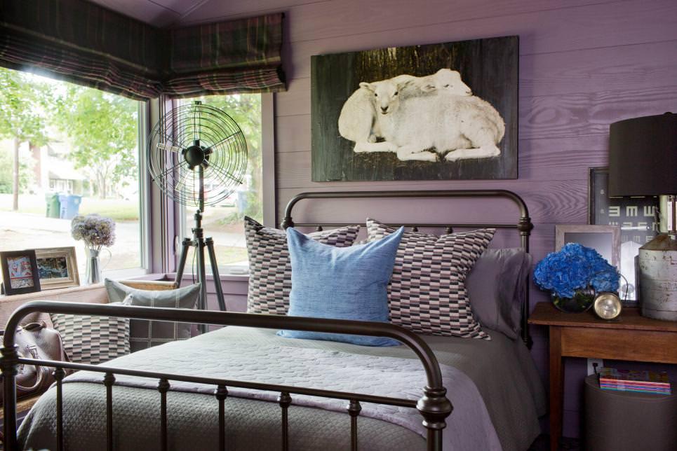 urban farm house bed room