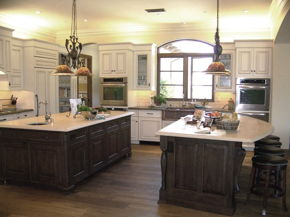 Double Island Kitchen Ideas