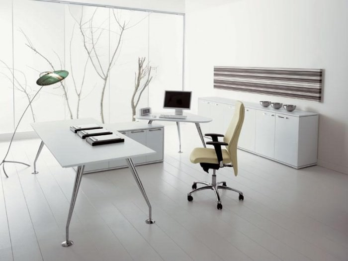 19+ Minimalist Office Designs, Decorating Ideas | Design Trends ...