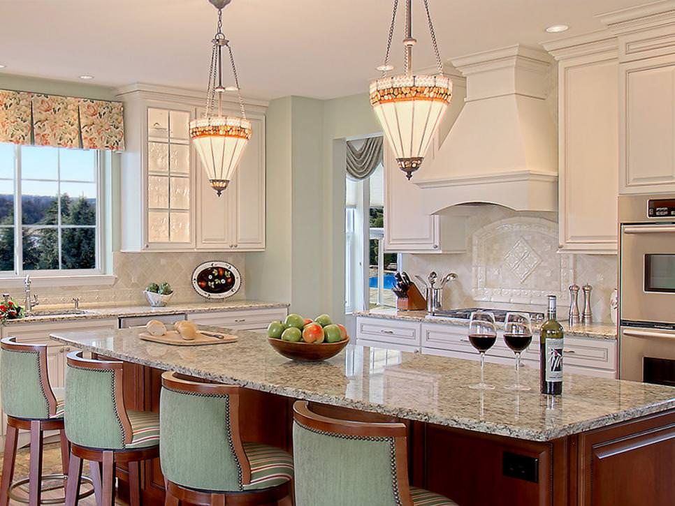 Charming Kitchen With Spacious Island