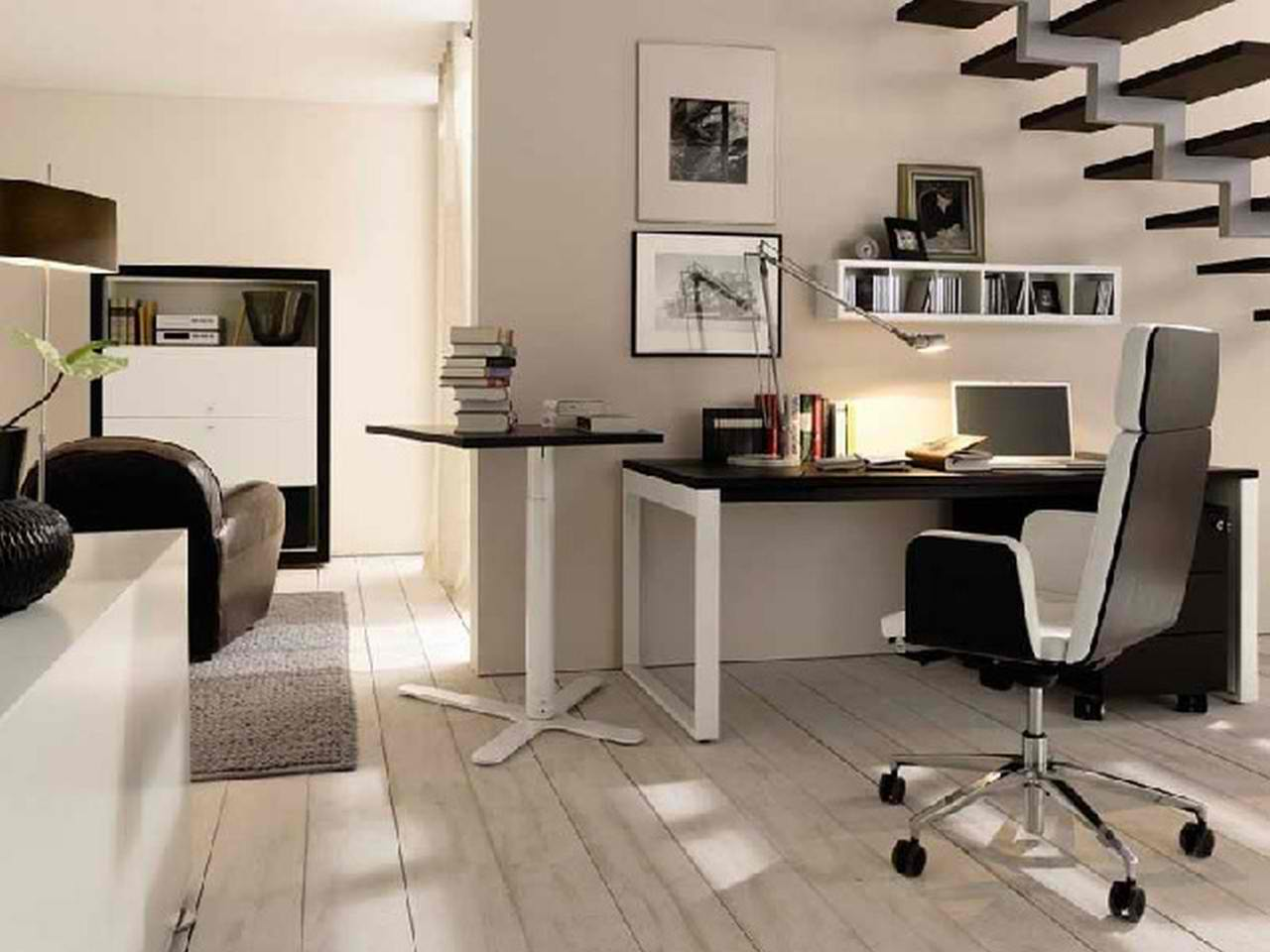 Modern Home Minimalist Office Design