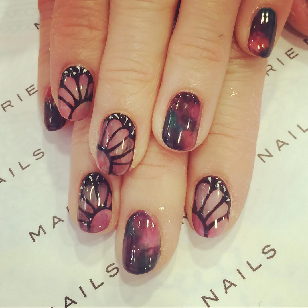 24+ Fall Nail Art Designs, Idea | Design Trends - Premium PSD ...