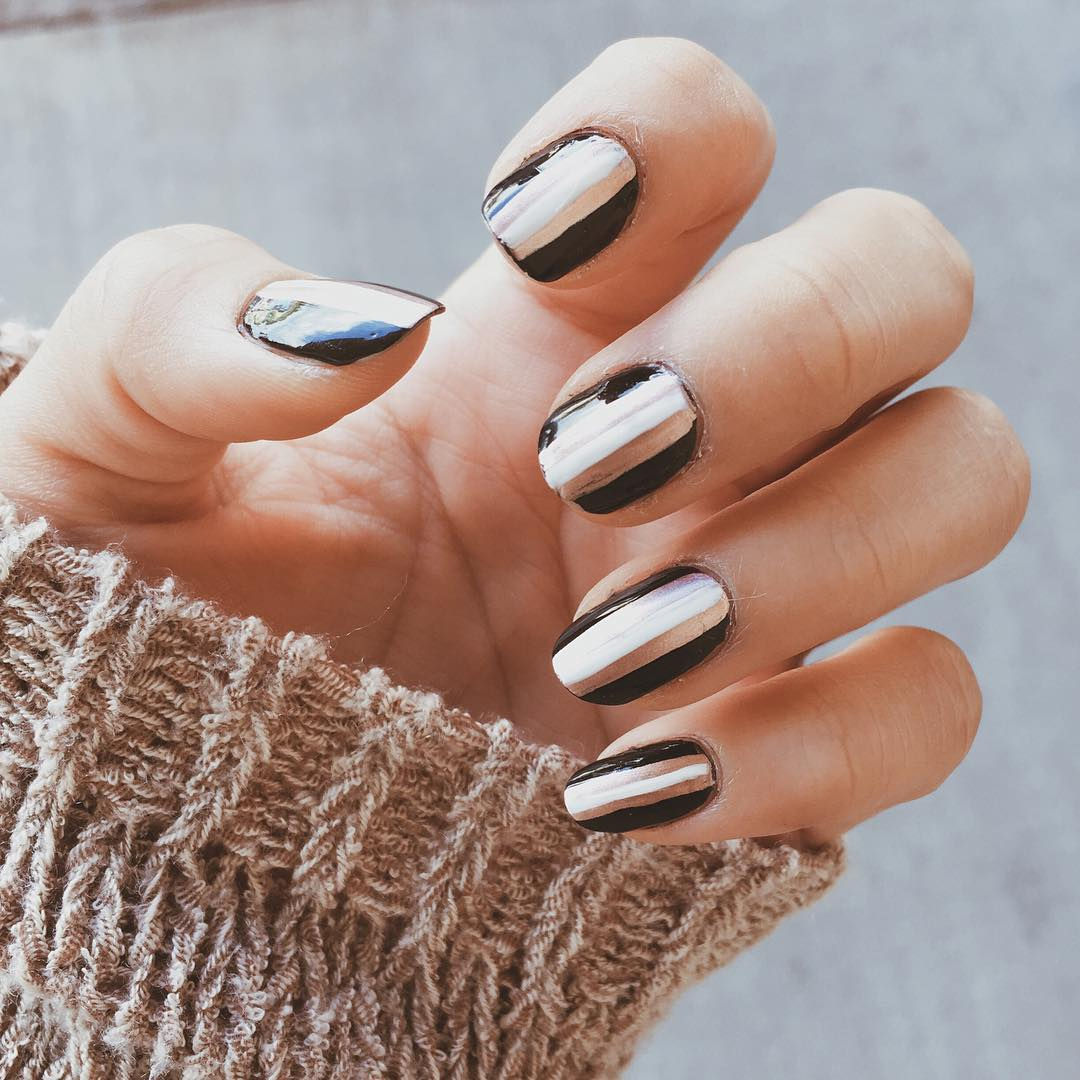 Shining Fall Nail Designs