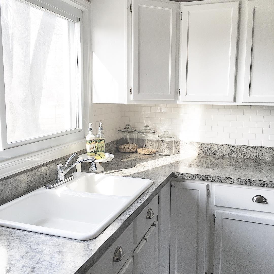 Spacious Kitchen Sink