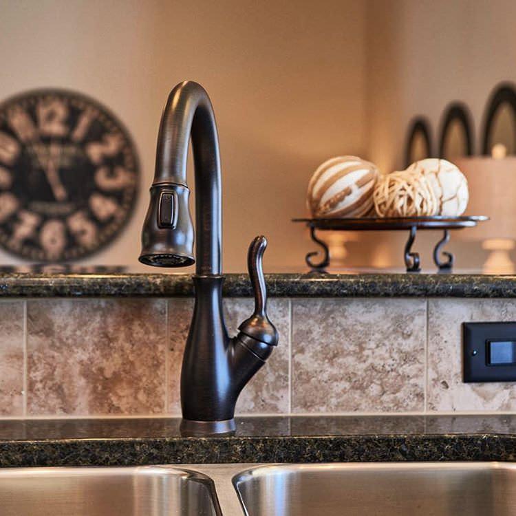 Fabolous Metal Granite Kitchen Sink Design
