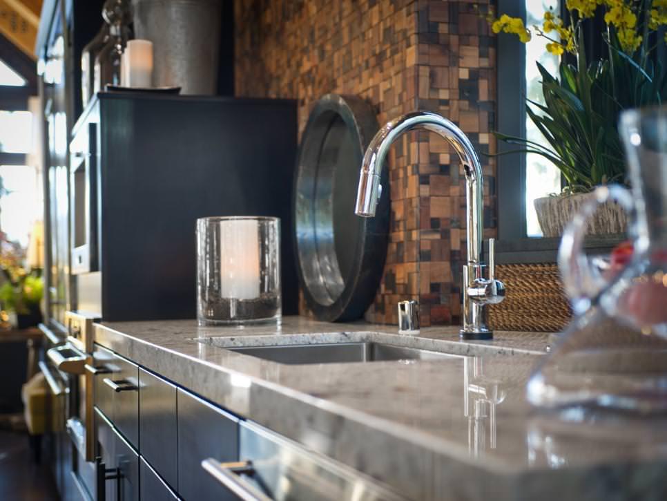 Contemporary Kitchen Sink Design