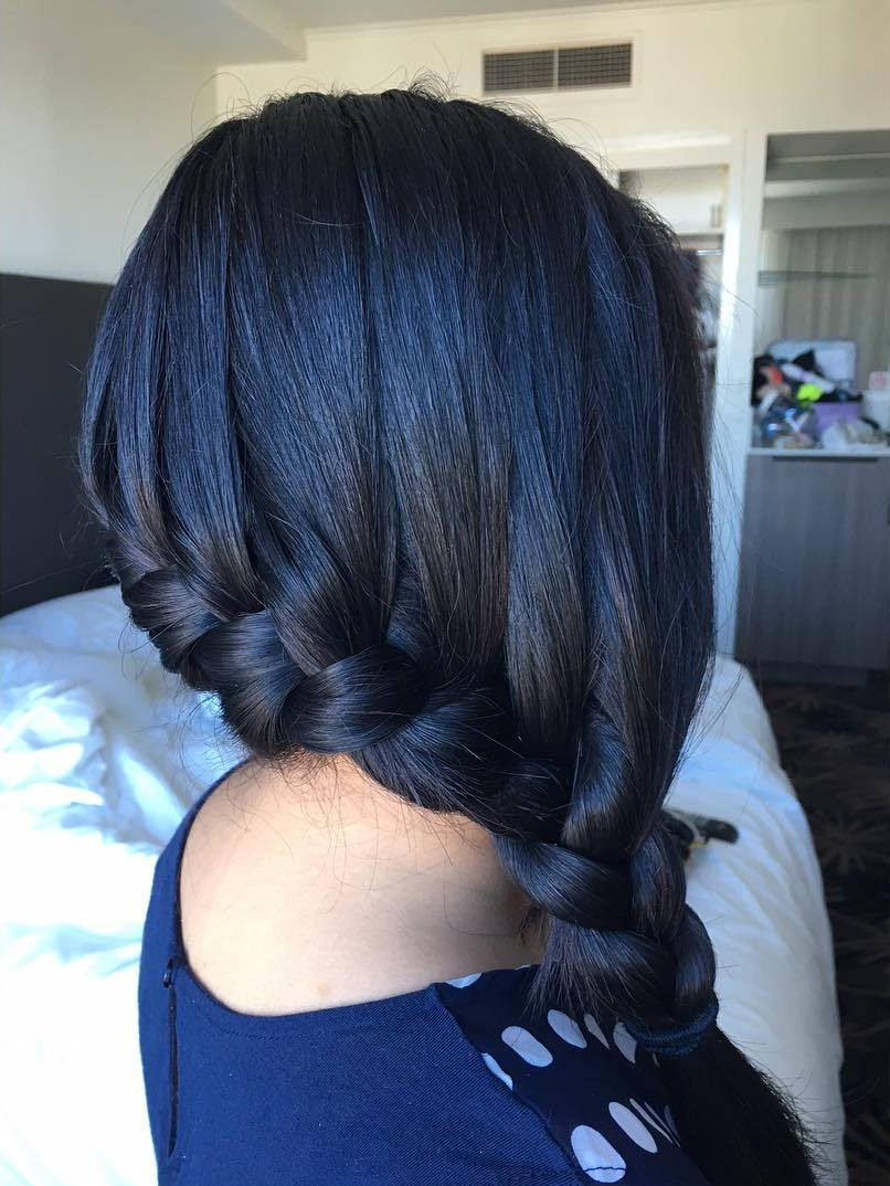 Astounding 25 Side Braid Hairstyle Designs Ideas Design Trends Hairstyles For Women Draintrainus