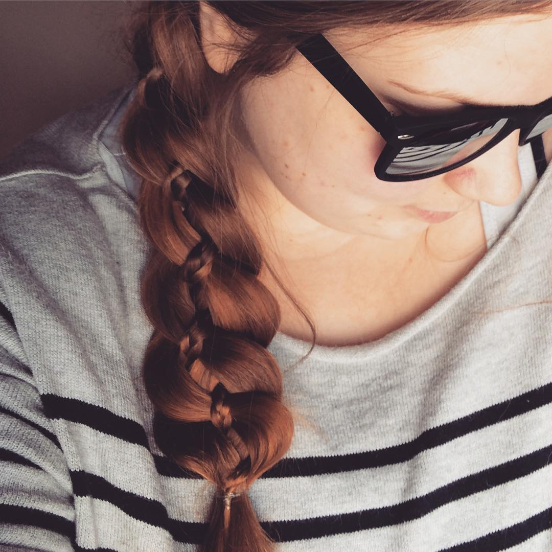 Cool Hairstyle of Side Braid