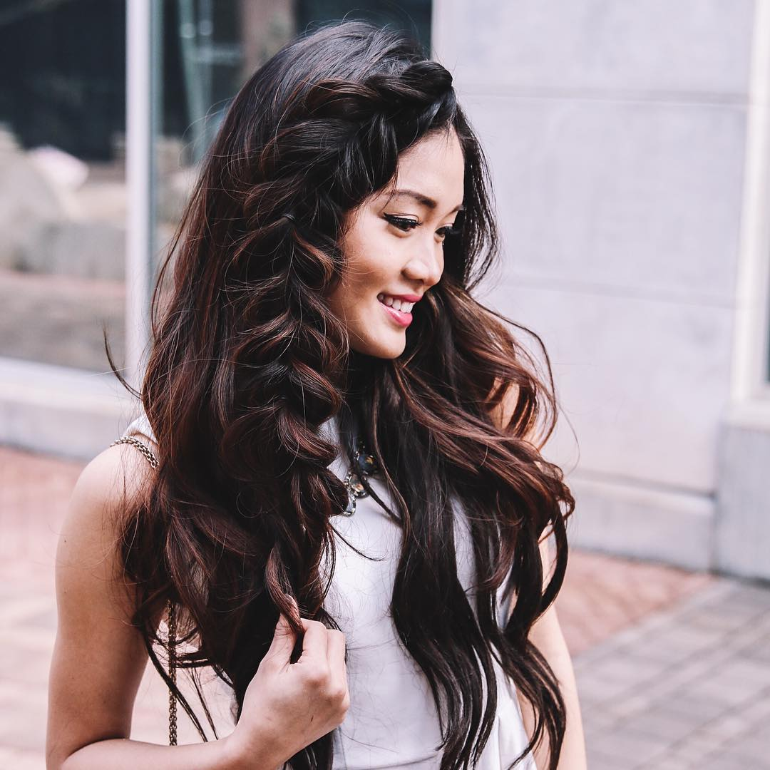 gorgeous side braid hairstyle