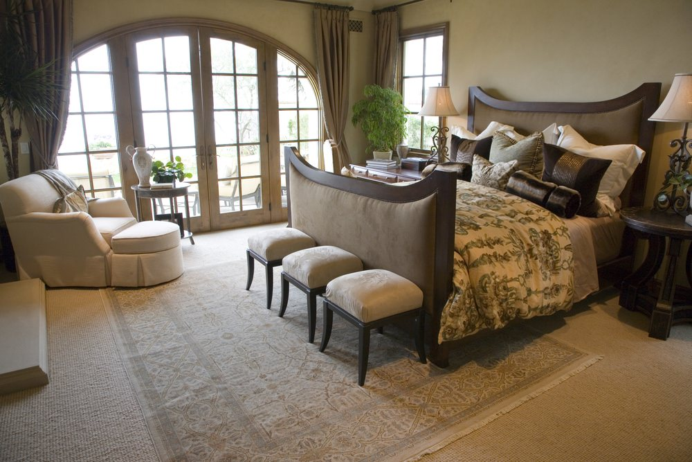Mediterranean Master Bedroom Design