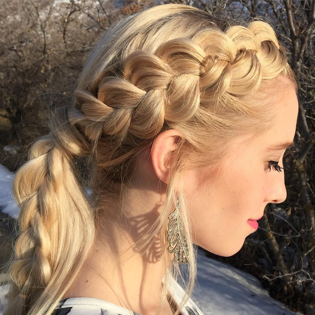 25 Side Braid Hairstyle Designs Ideas Design Trends