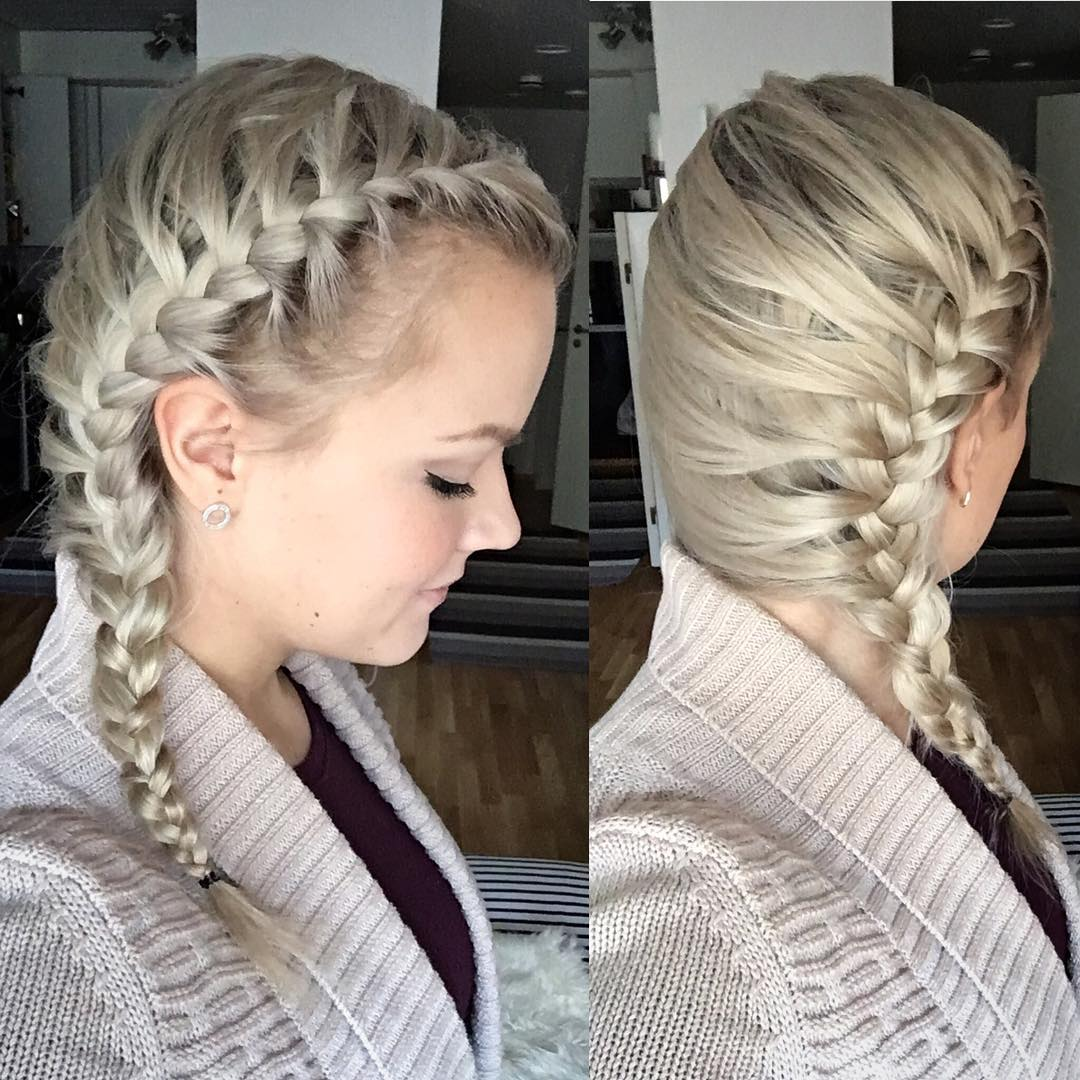 Astonishing 25 Side Braid Hairstyle Designs Ideas Design Trends Short Hairstyles For Black Women Fulllsitofus