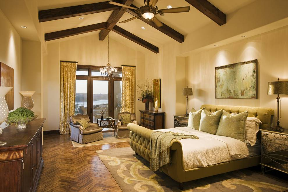 26 mediterranean bedroom design ideas design trends for Mediterranean master bedroom