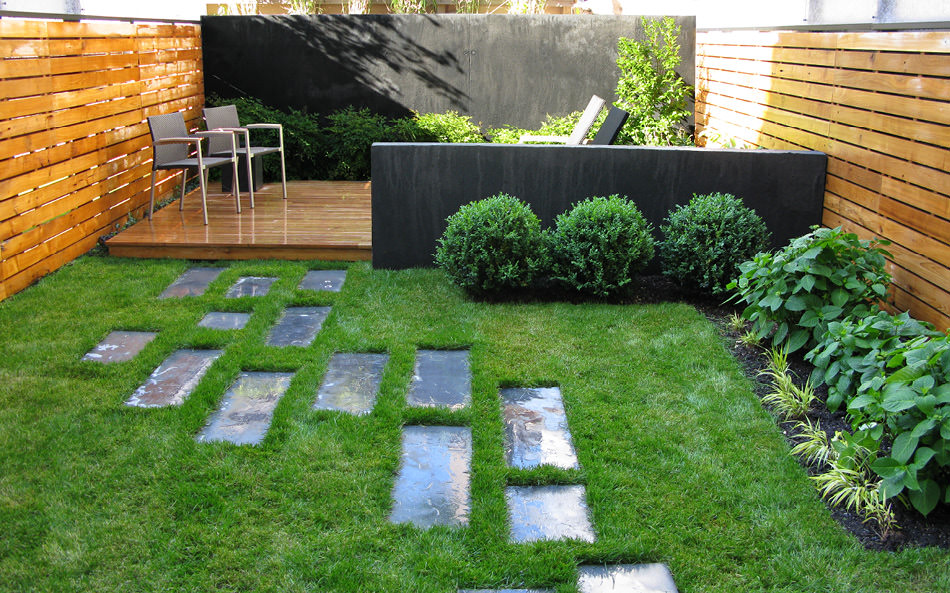 24+ Townhouse Garden Designs, Decorating Ideas | Design ...