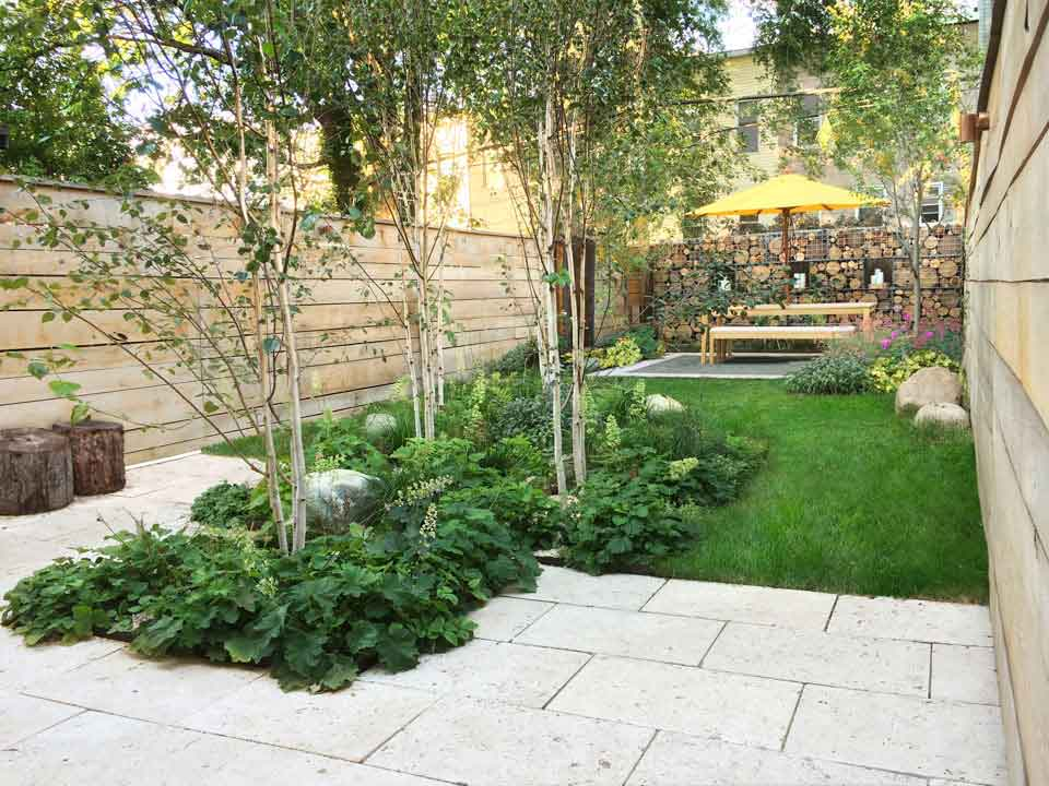 24 townhouse garden designs decorating ideas design for Garden design brooklyn