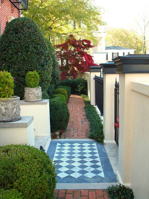 24 townhouse garden designs decorating ideas design - Small backyard landscape designs ...