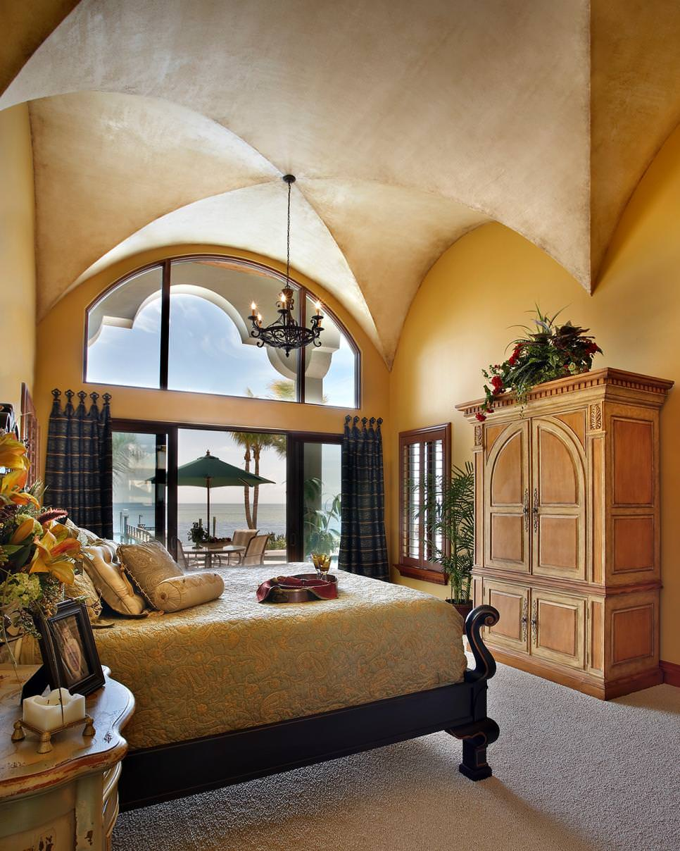 Romantic Mediterranean Bedroom