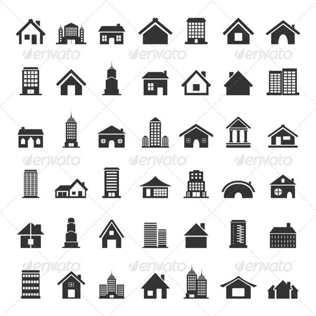 bundle of home icons