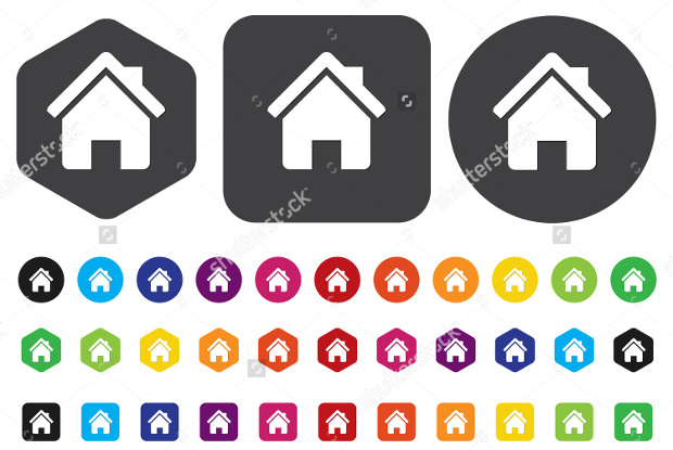group of home icons1