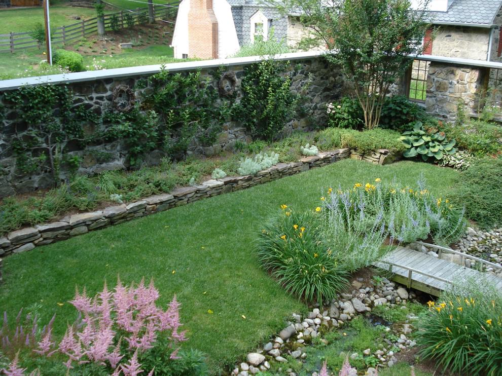 24+ Rock Wall Garden Designs, Decorating Ideas | Design ... on Backyard Rocks  id=77971