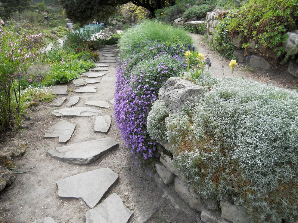 24 Rock Wall Garden Designs Decorating Ideas Design Trends