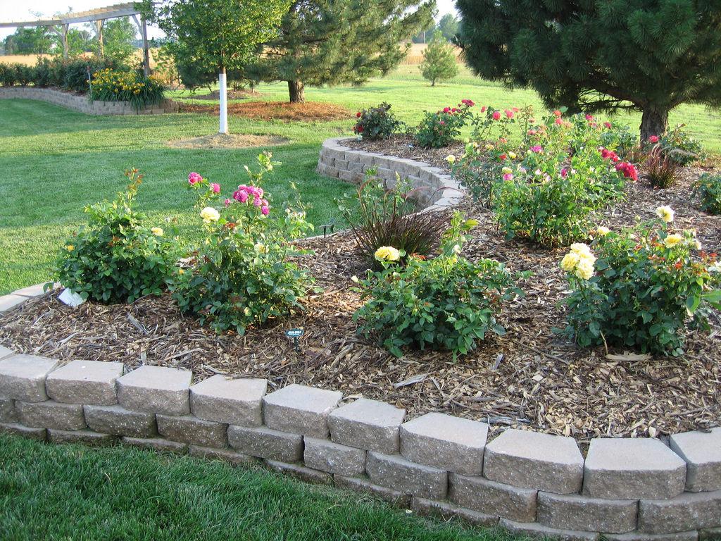Border Rock wall Garden
