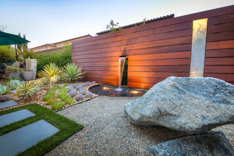 24+ Rock Wall Garden Designs, Decorating Ideas | Design ...