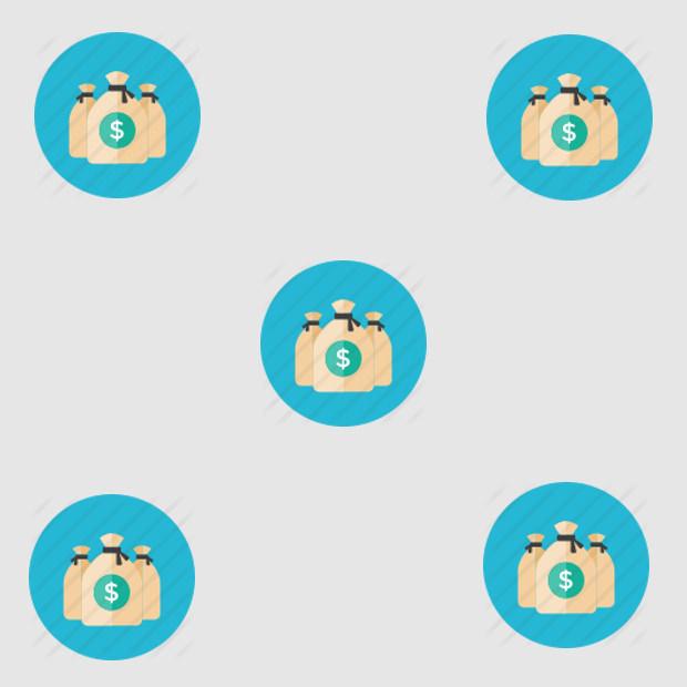 Bag-money icon