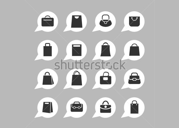Bag icons for app