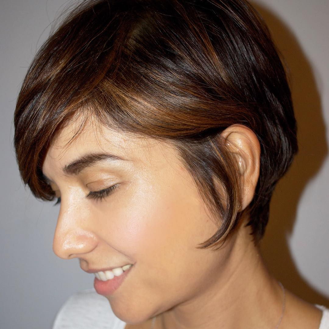Cool Shag Hair of Short Bob